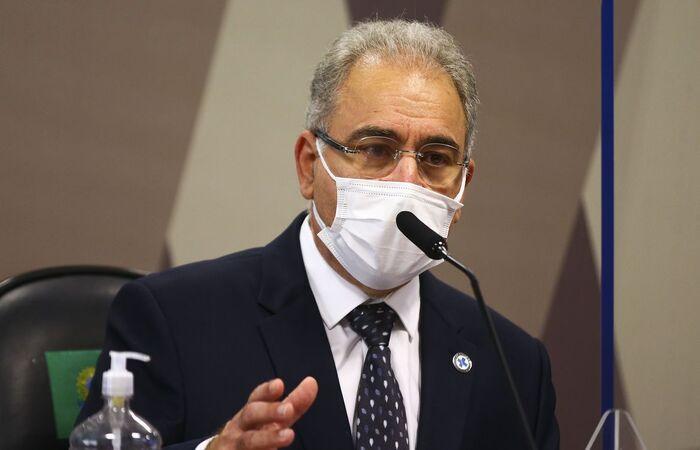 Ministro depõe pela segunda vez à CPI da Pandemia  (Marcelo Camargo/Agência Brasil)
