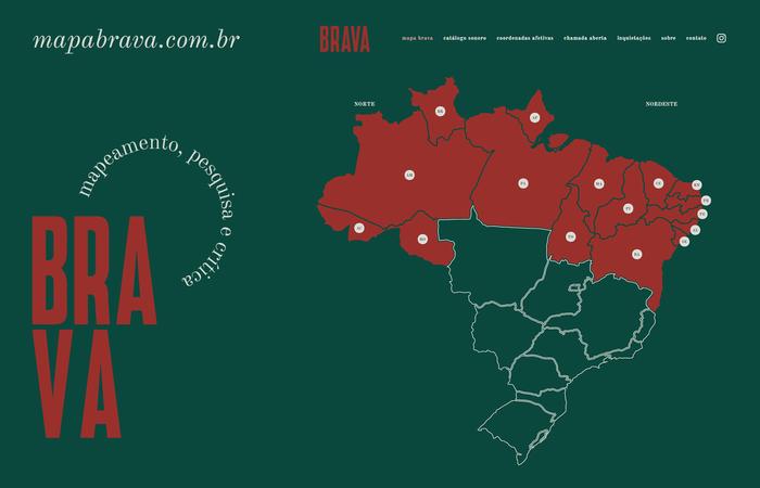 (Foto: Reprodução/Mapa Brava)