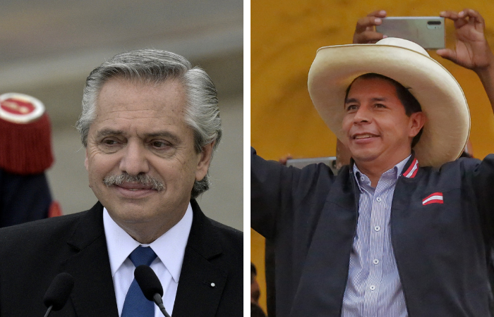 (Fotos: JUAN MABROMATA e Luka GONZALES / AFP)