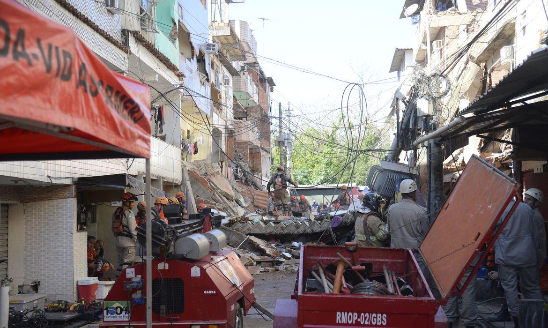 (A demolição será feita para aliviar sobrecarga nos andares inferiores. Foto: Tomaz Silva/Agência Brasil )