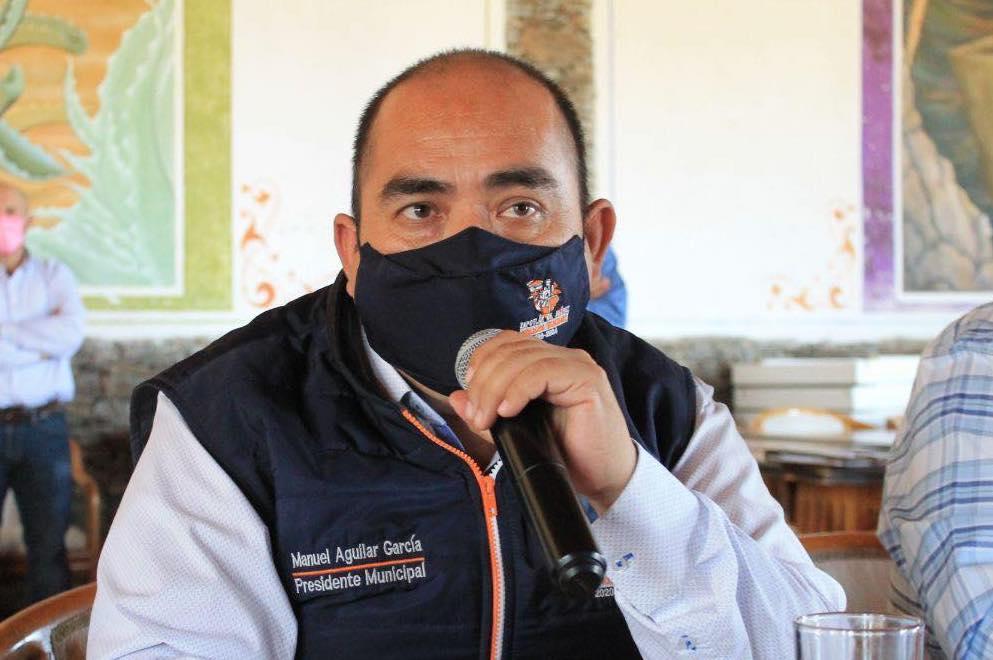 (Manuel Aguilar García assumiu o cargo em dezembro de 2020. Foto: Reprodução/Facebook/Zapotlán de Juárez)