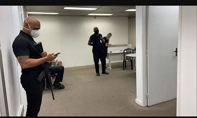 (Ação investiga segurança privada no Aeroporto Internacional Tom Jobim. Foto: Divulgação/Polícia Federal)
