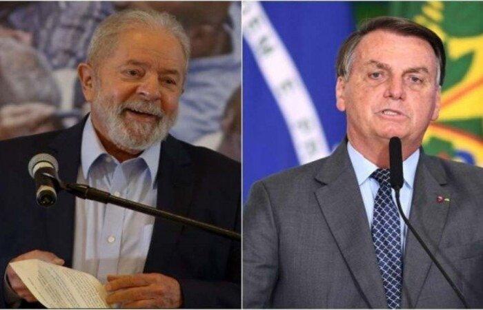 Se o segundo turno fosse hoje, o ex-presidente Lula teria nove pontos percentuais de vantagem sobre Bolsonaro. Presidente também perderia para Ciro Gomes  (crédito: AFP)