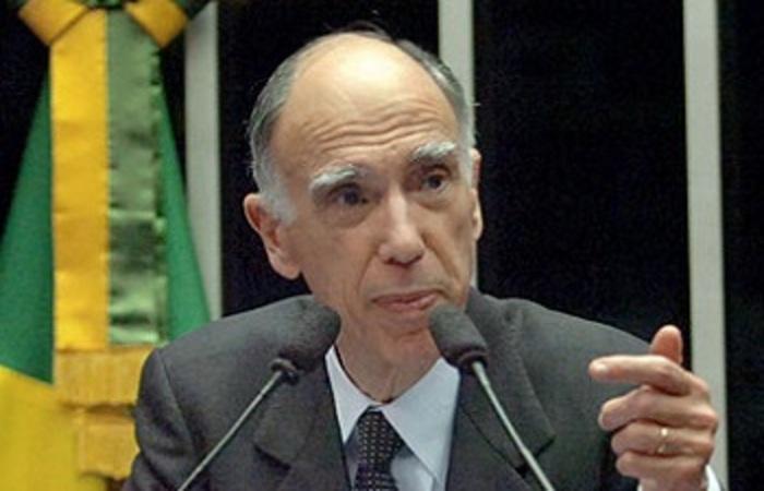 Aos 80 anos, ex-vice-presidente morreu neste sábado (12) (Reprodução/Agência Senado)
