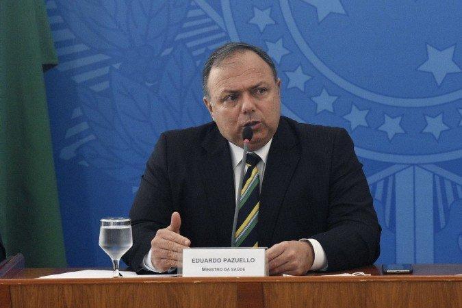 Ex-ministro da Saúde, Eduardo Pazuello, investigado por improbidade administrativa (Foto: Tony Winston/MS)