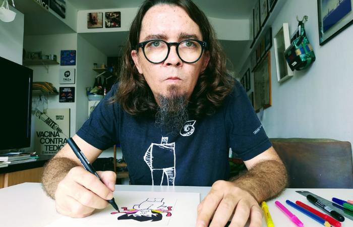 Guilherme Patriota é artista, jornalista, pós-graduado em Literatura e Estudos Culturais (Foto: Divulgação)