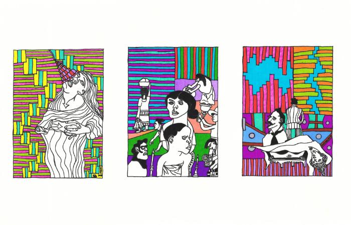Algumas obras da exposição (Foto: Divulgação)