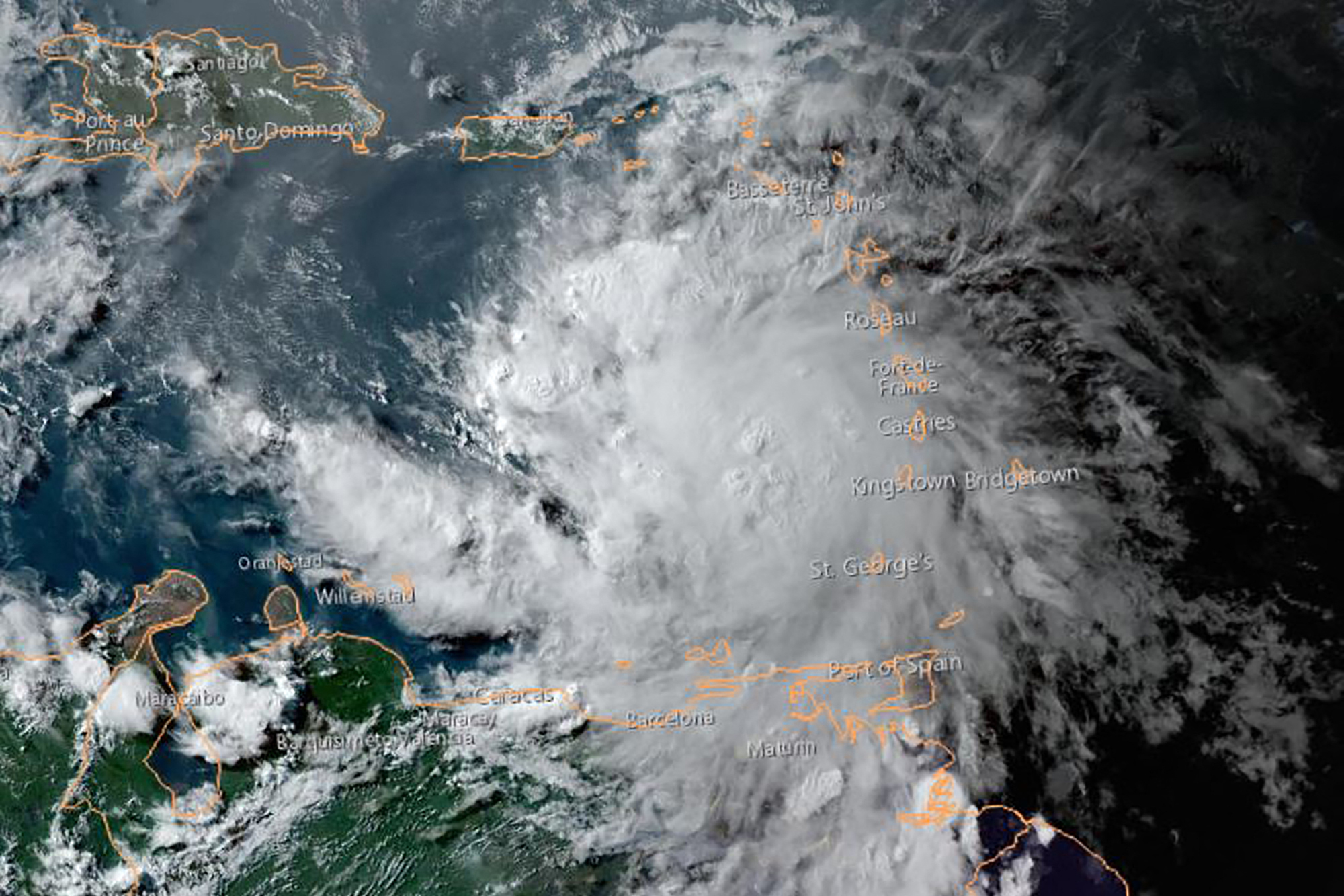 (Foto: NOAA / AFP)