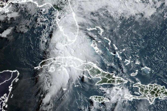 (Foto: Handout / NASA/NOAA / AFP)
