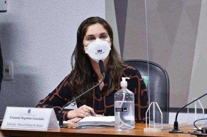 (Fernanda Guardado teve o nome aprovado pela Comissão de Assuntos Econômicos (CAE) do Senado. Plenário da Casa pode votar a indicação dela nos próximos dias. Foto: Waldemir Barreto/Agência Senado)