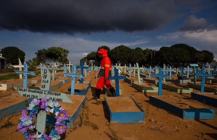 (Foto Michael Dantas/AFP)
