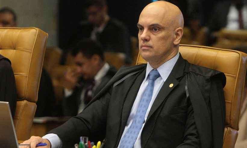 (Ministro do STF, Alexandre de Moraes defendeu a democracia e a lisura das eleições brasileiras. Foto: Carlos Moura/SCO/STF)