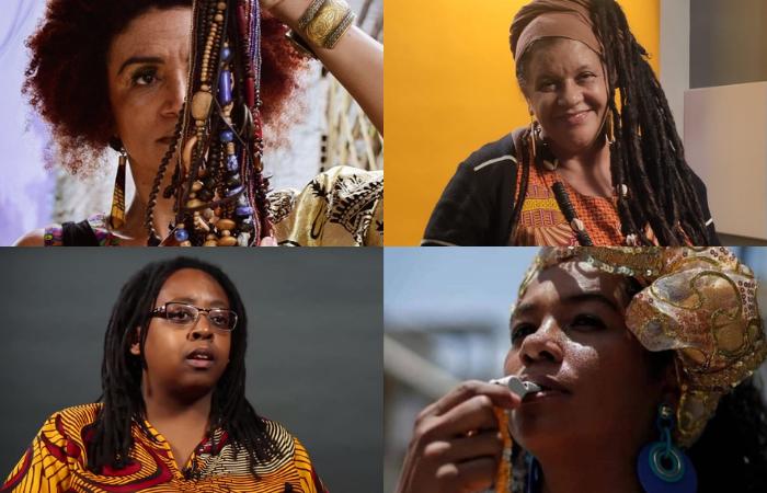 Odalita Alves, Cidinha da Silva, Mãe Beth de Oxum e Mestra Joana integram a programação (Fotos: Divulgação)
