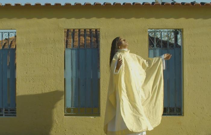 O documentário sobre a primeira Reverenda trans da América Latina foi apresentado para financiadores no Docs in Progress do Festival (Foto: 99 Produções/Divulgação)