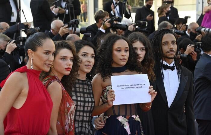 O filme de Anita Rocha da Silveira representa o Brasil na Quinzena dos Realizadores de Cannes (Foto: John Macdougall/AFP)