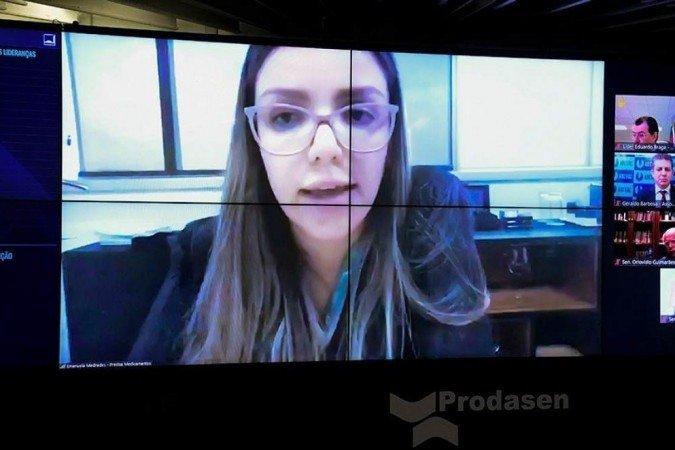(Presidente do STF negou pedido de Emanuela Medrades de não comparecer à CPI. O depoimento estava marcado para esta terça-feira (13). Foto: Agência Senado )