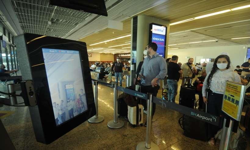 (Estados Unidos decidem manter as restrições para viajantes brasileiros ao país. Foto: Leandro Couri/EM/D.A Press)