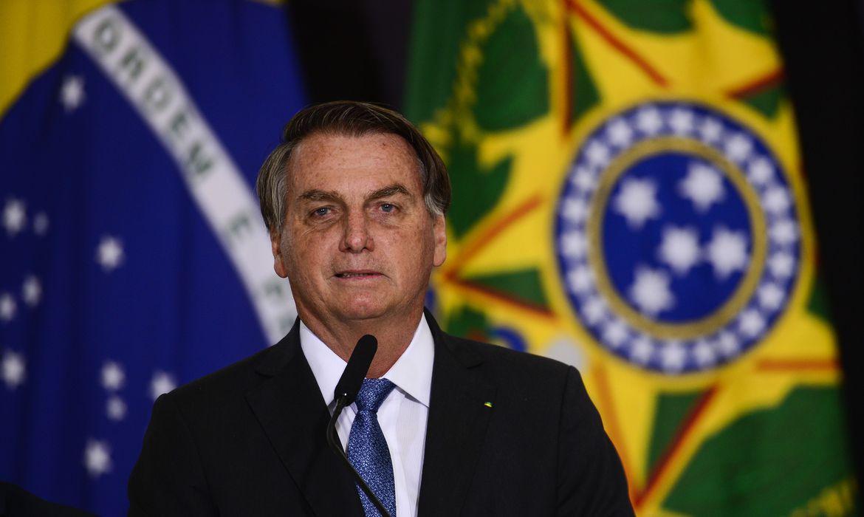(Presidente falou com a imprensa após reunião com Luiz Fux. Foto: Marcelo Camargo/Agência Brasil )