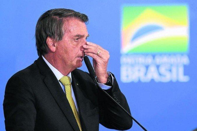 (Presidente diz, ainda, que tomou providências quando recebeu denúncia do deputado Luis Miranda sobre irregularidade na importação da vacina indiana Covaxin.Foto: Evaristo Sá/AFP)