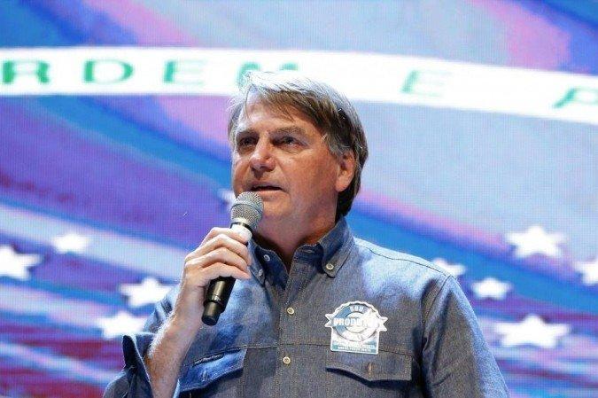 (O presidente disse ainda que, nesta semana, apresentaria provas de que as eleições de 2014 foram fraudadas. Foto: Alan Santos/PR)