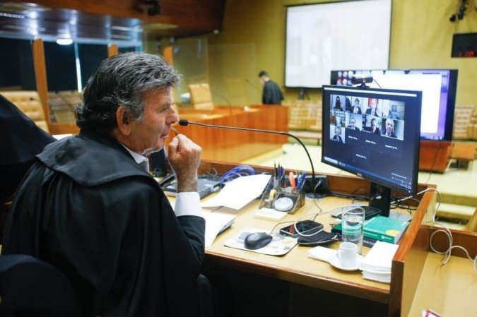 (Para o presidente do Supremo a comissão tem meios legais para responder a abusos no direito ao silêncio dos depoentes. Foto: Fellipe Sampaio /SCO/STF )