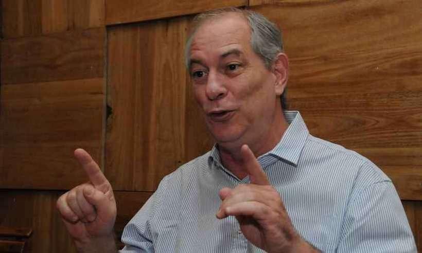 (Em vídeo, Ciro ironiza a fala do ex-presidente, que afirmou que não existe chance de uma terceira via nas eleições presidenciais de 2022. Foto: Paulo Filgueiras/EM/D.A Press)