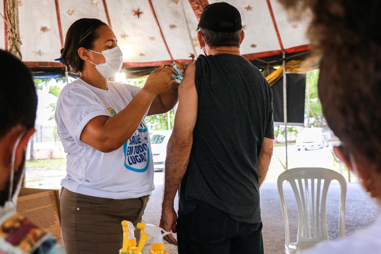 ( Foto: Ikamahã/Secretaria de Saúde do Recife)