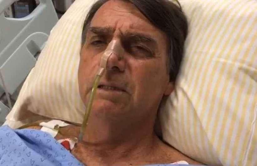 (Ele deve passar pela quinta cirurgia em decorrência da facada de 2018. Foto: Reprodução/Redes Sociais )