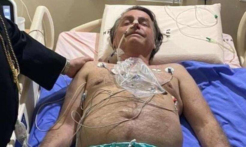 (O presidente foi transferido para o Hospital Vila Nova Star, em São Paulo, nesta quarta-feira (14). Foto: Reprodução/Instagram)