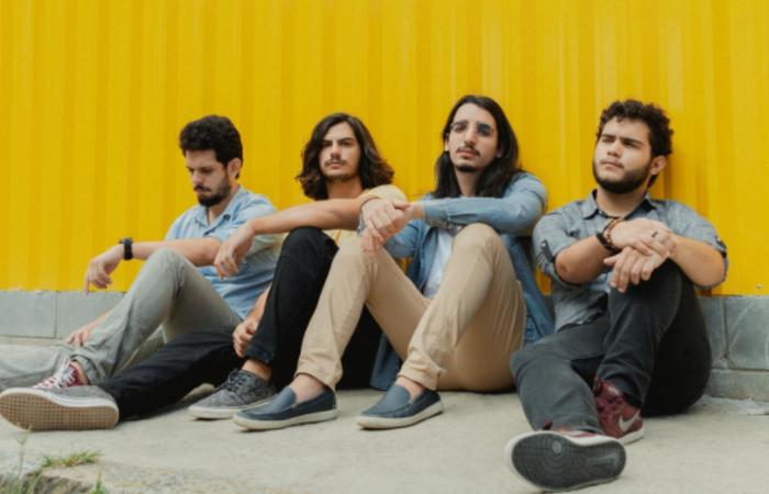 A produção musical é assinada por Gabriel Aragão, vocalista da banda cearense Selvagens à Procura de Lei (Foto: Divulgação)
