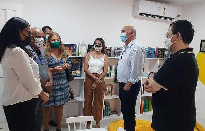 No encontro, o presidente da Fundaj, Antônio Campos, falou sobre as demandas educacionais do arquipélago (Foto: Divulgação)