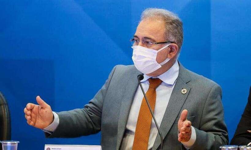 (Ministro da Saúde, Marcelo Queiroga disse não ver mal algum em pesquisar qualquer medicamento. Foto: Walterson Rosa/MS)