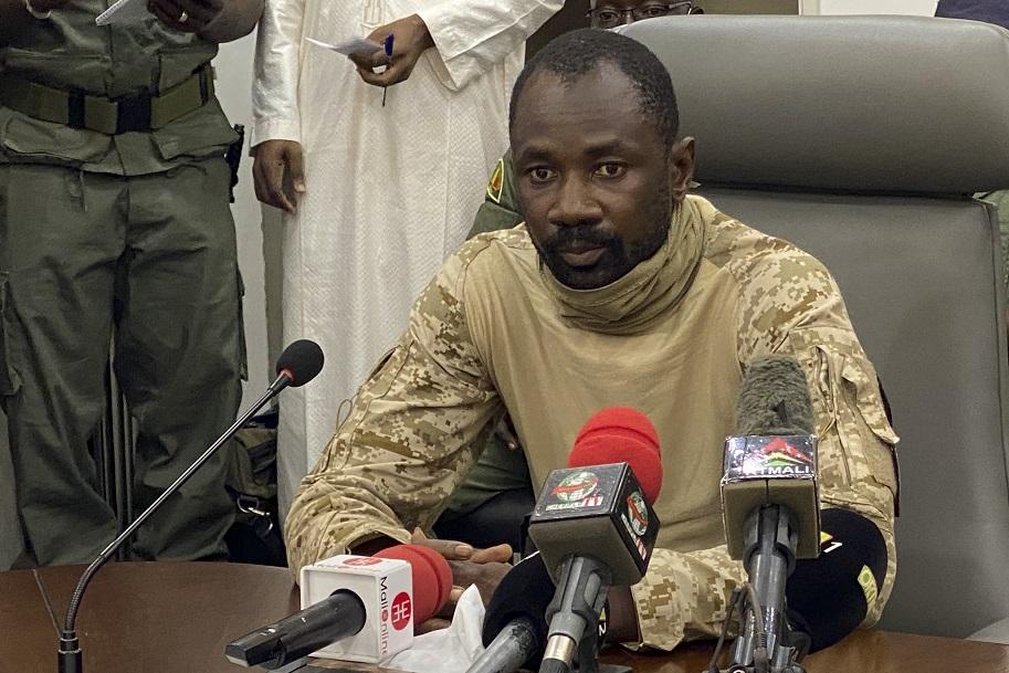 Coronel Assimi Goita (Foto: MALIK KONATE / AFP)