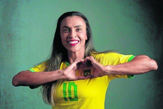 """Dona da camisa 10 da Seleção, Marta disputará a sexta edição olímpica em busca do primeiro ouro. """"Importante para a evolução do esporte"""" (Foto: Sam Robles/CBF)"""