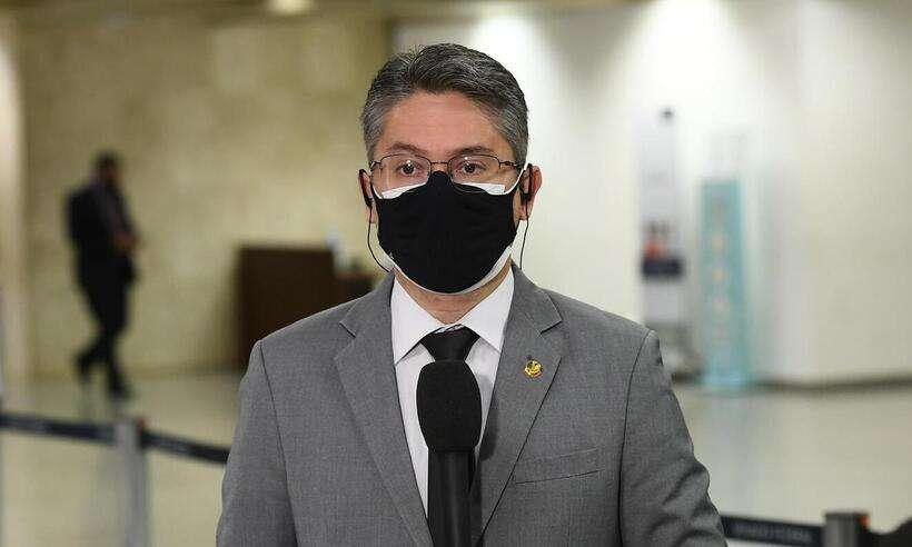 (Senador Alessandro Vieira (Cidadania-SE);. Foto: Marcos Oliveira/Agência Senado)