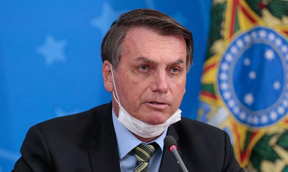 (Como tem feito nos últimos tempos, Bolsonaro voltou a atacar e a ofender membros da CPI que investiga as responsabilidades pela disseminação da Covid-19 no país. Foto: Carolina Antunes/PR)