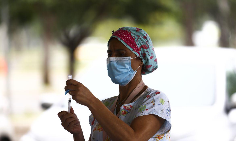 (Balanço foi apresentado pela Secretaria de Saúde do Distrito Federal. Foto: Marcelo Camargo/Agência Brasil)