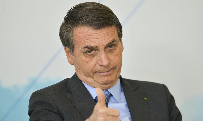 """('Se 5% é positivo e o ano passado foi 4% negativo, crescemos 9%. É um milagre. É uma coisa inacreditável"""", disse o presidente. Foto: Marcelo Camargo/Agência Brasil)"""