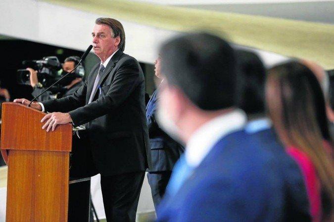 A reorganização a ser promovida por Bolsonaro fará com que o Centrão assuma o comando das duas pastas palacianas que mais dialogam com o Parlamento (Foto: Alan Santos / PR)