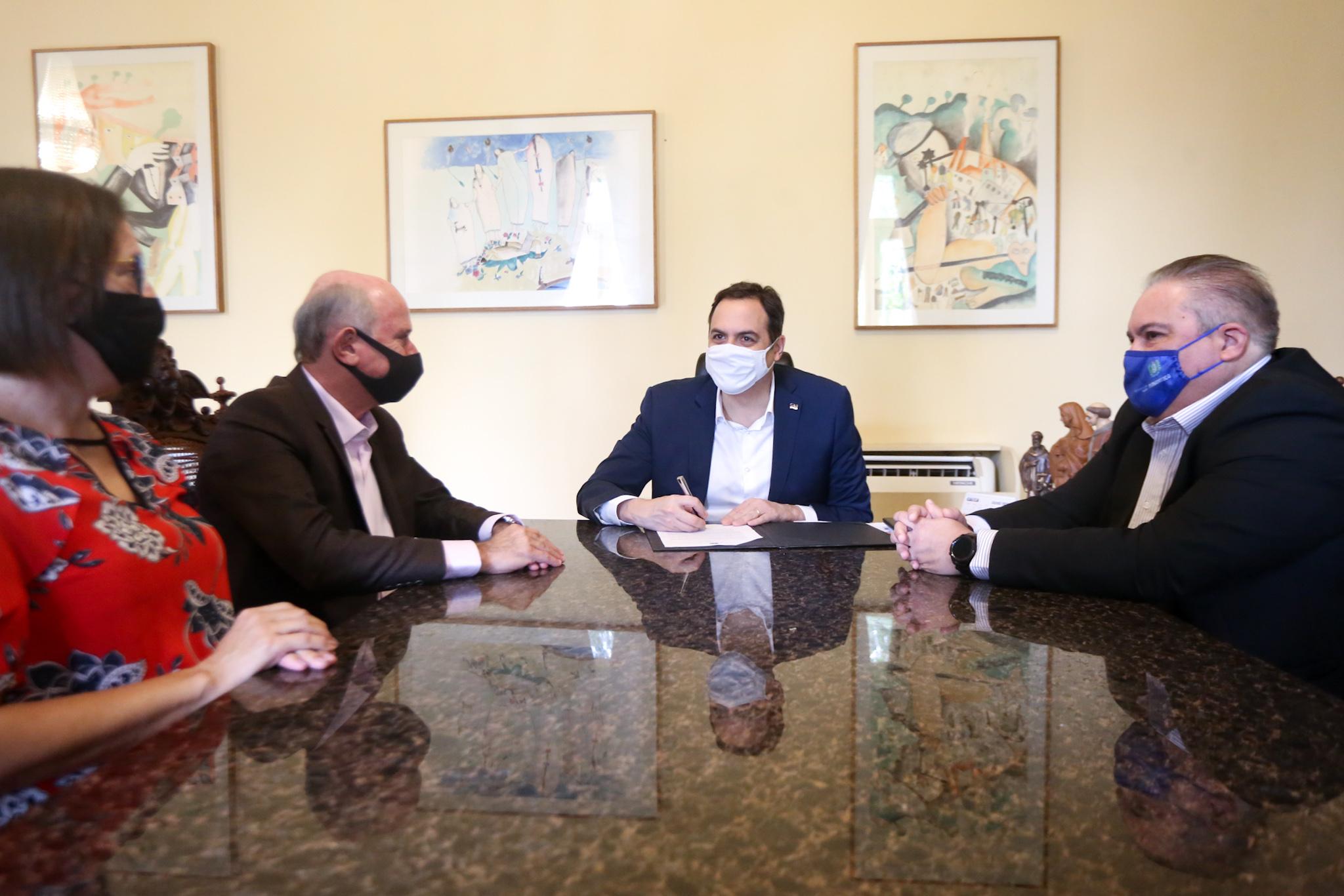 Governador sanciona lei que garante subvenção ao Hospital de Câncer (Aluisio Moreira/SEI)