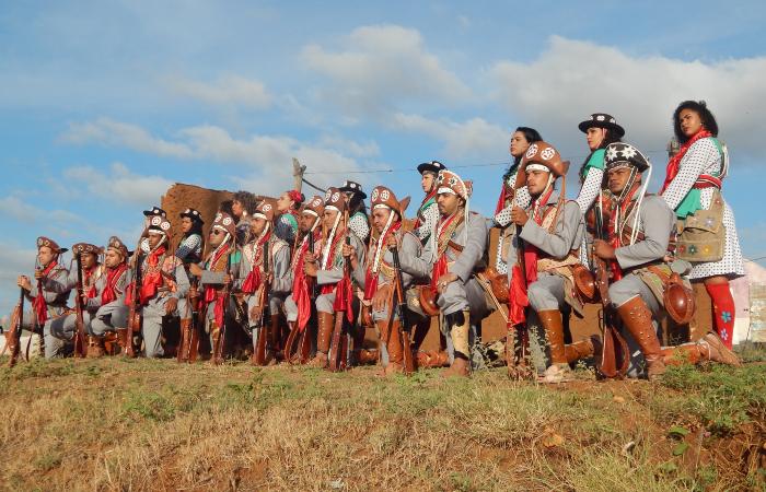 Grupo de xaxado Cabras de Lampião (Foto: Laísa Magalhães/Divulgação)