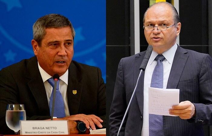 (Marcello Casal Jr/Agência Brasil e Pablo Valadares/Câmara dos Deputados  )