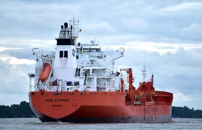 (Foto: Reprodução/Facebook/Marine Traffic)