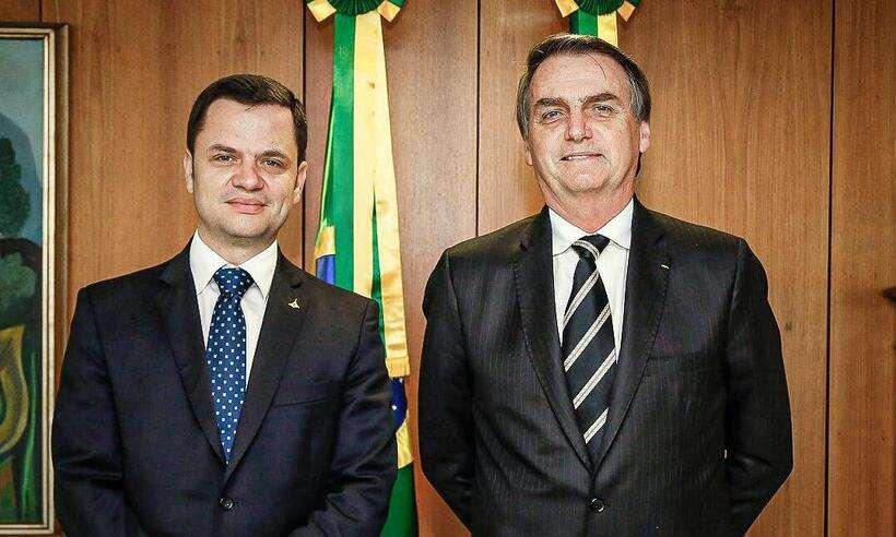 (Anderson Torres estava presente na live em que Bolsonaro atacou as urnas eletrônicas e ministros do STF. Foto: Carolina Antunes/PR)