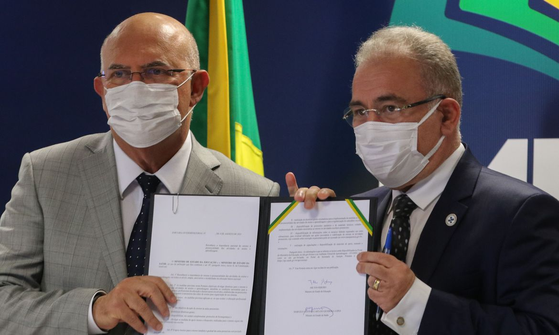 (Norma traz orientações para estados e instituições federais. Foto: Fabio Rdorigues/Agência Brasil)