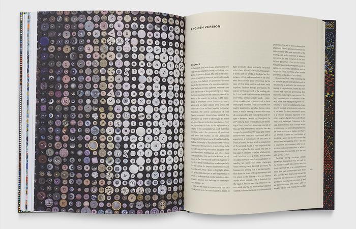 Os textos trazem relatos e detalhes por trás da criação das séries de José Patrício (Foto: Divulgação)