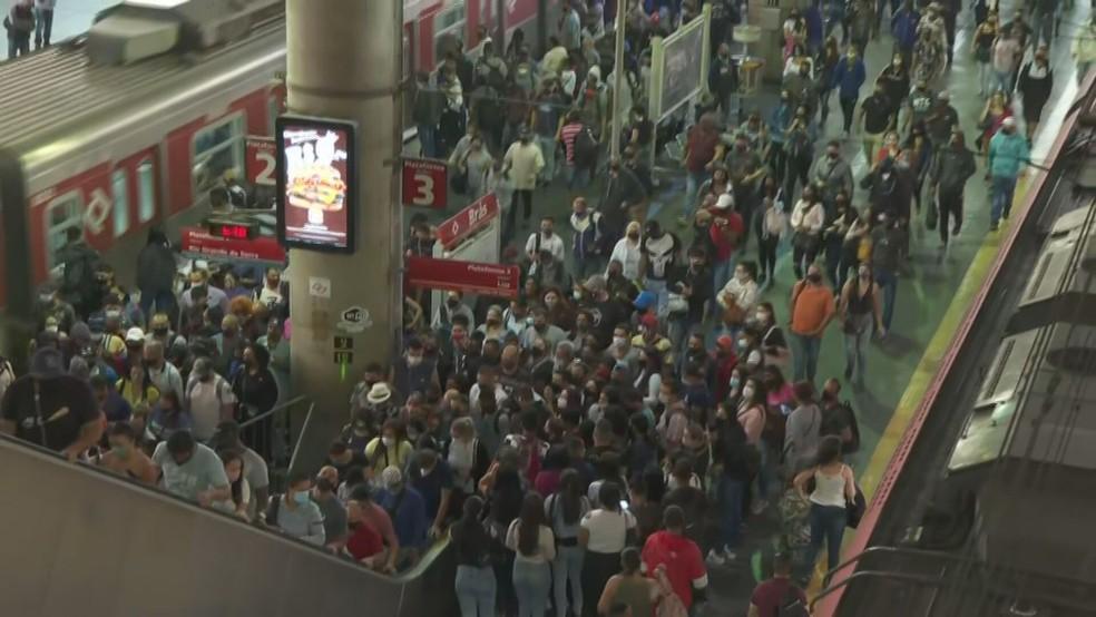 Strike affects operation of three train lines in Greater São Paulo |  Brazil: Pernambuco Magazine