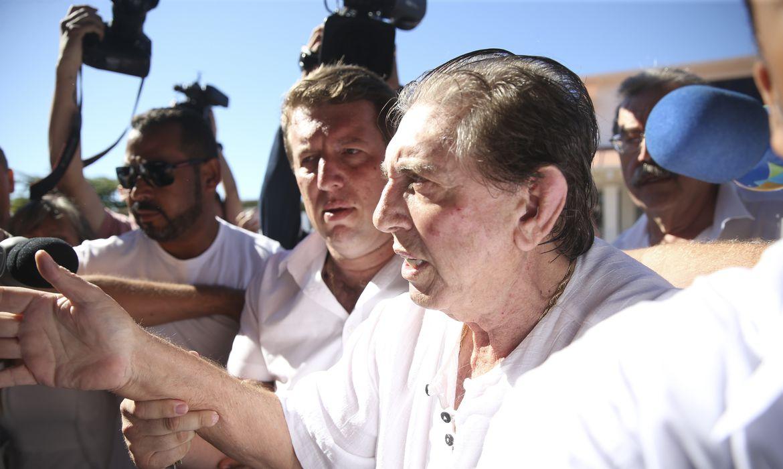(É a 15ª denúncia contra ele, que estava em prisão domiciliar. Foto: Marcelo Camargo/Agência Brasil)
