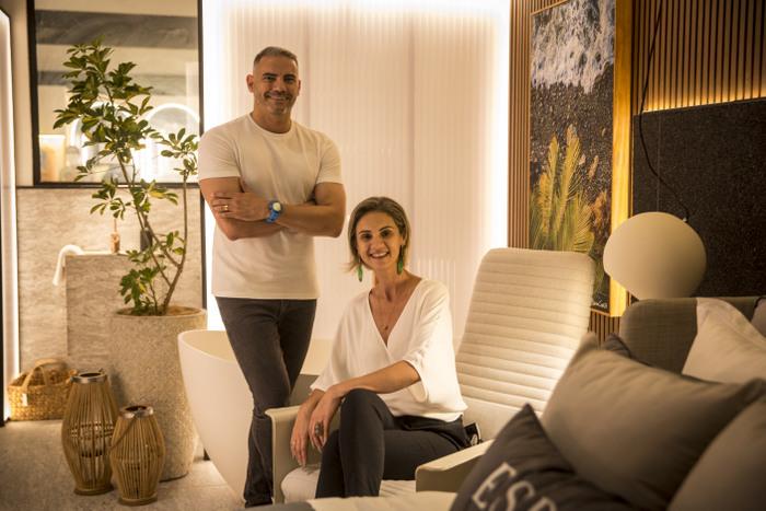 Wagner Melo e Maíza Neri, arquitetos (Foto: Paulo Paiva / DP FOTO)