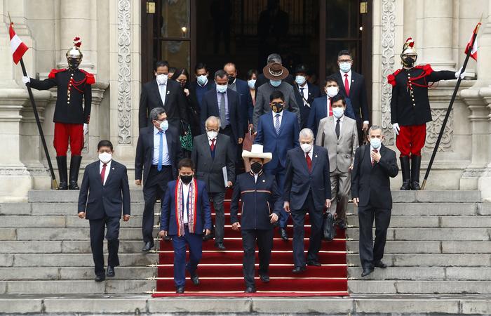 (Foto: Cesar Fajardo/Peruvian Presidency/AFP)
